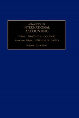 Abbildung von Salter / Doupnik | Advances in International Accounting | 1997 | Edited by T.S. Doupnik | 10