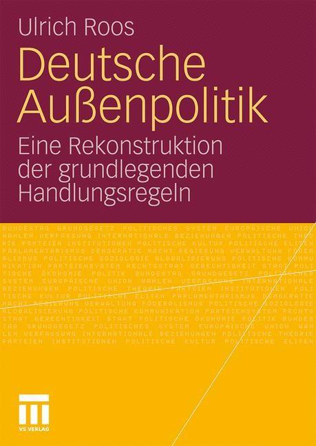 Abbildung von Roos   Deutsche Außenpolitik   2010