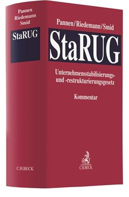 Abbildung von Pannen / Riedemann   Unternehmensstabilisierungs- und -restrukturierungsgesetz: StaRUG   1. Auflage   2021   beck-shop.de