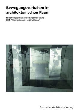 Abbildung von Ing. Heißler / Kamel | Bewegungsverhalten im architektonischen Raum | 1. Auflage | 2020 | beck-shop.de