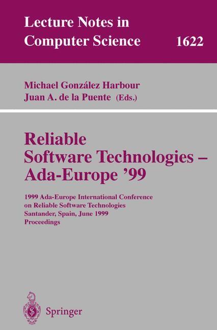 Abbildung von Gonzalez Harbour / de la Puente | Reliable Software Technologies - Ada-Europe '99 | 1999