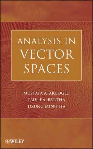 Abbildung von Akcoglu / Bartha / Ha   Analysis in Vector Spaces   1. Auflage   2009