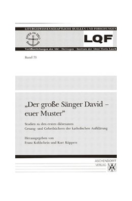 Abbildung von Kohlschein / Küppers | Der grosse Sänger David - euer Muster | 1. Auflage | 1992 | 73 | beck-shop.de