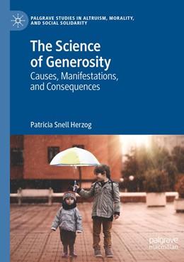 Abbildung von Herzog | The Science of Generosity | 1. Auflage | 2020 | beck-shop.de