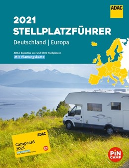 Abbildung von ADAC Stellplatzführer 2021 Deutschland und Europa | 1. Auflage | 2021 | beck-shop.de
