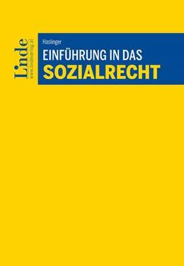 Abbildung von Haslinger | Einführung in das Sozialrecht | 1. Auflage | 2020 | beck-shop.de