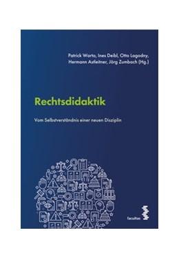 Abbildung von Warto / Deibl | Rechtsdidaktik | 1. Auflage | 2020 | beck-shop.de