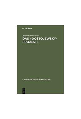 Abbildung von Hoeschen | Das »Dostojewsky-Projekt« | Reprint 2015 | 2000 | Lukács' neukantianisches Frühw... | 151