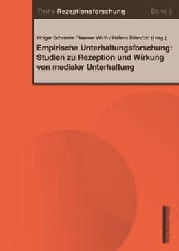 Abbildung von Schramm / Wirth / Bilandzic | Empirische Unterhaltungsforschung: Studien zu Rezeption und Wirkung von medialer Unterhaltung | 2009 | 8