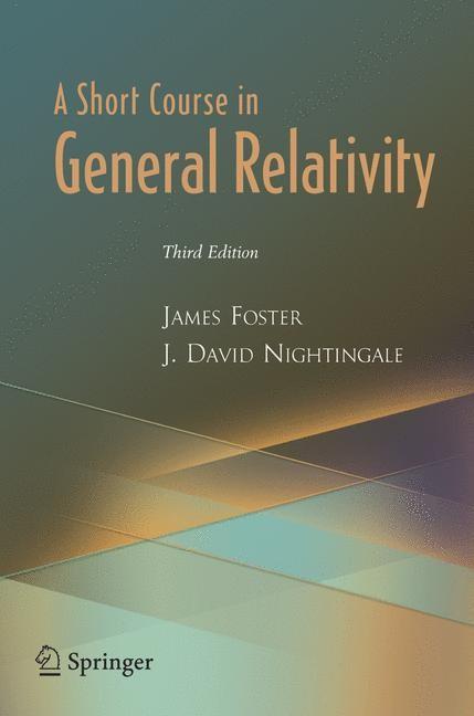 Abbildung von Foster / Nightingale   A Short Course in General Relativity   3rd ed.   2005