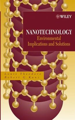 Abbildung von Theodore / Kunz | Nanotechnology | 1. Auflage | 2005