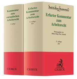 Abbildung von Erfurter Kommentar zum Arbeitsrecht (21. Aufl.) + Kommentar zum europäischen Arbeitsrecht (3. Aufl.) • Set | 1. Auflage | 2020 | beck-shop.de