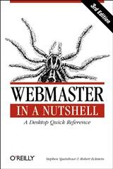 Abbildung von Robert Eckstein / Stephen Spainhour | Webmaster in a Nutshell | 2002