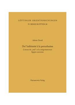 Abbildung von David | Classification and Categorization in Ancient Egypt / De l'infériorité à la perturbation | 1. Auflage | 2000 | 38 | beck-shop.de