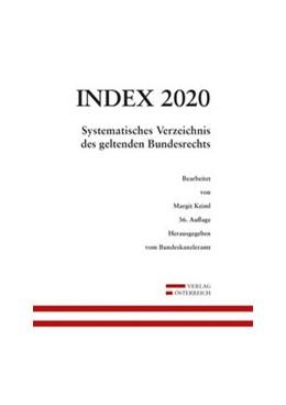 Abbildung von Index Bundesrecht 2020 | 35. Auflage | 2020 | beck-shop.de