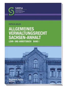 Abbildung von Adler | Allgemeines Verwaltungsrecht Sachsen-Anhalt | 1. Auflage | 2020 | beck-shop.de