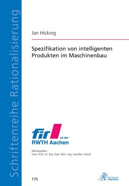 Abbildung von Hicking | Spezifikation von intelligenten Produkten im Maschinenbau | 1. Auflage | 2020 | beck-shop.de