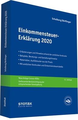 Abbildung von Schalburg / Dörflinger   Einkommensteuer-Erklärung 2020   15. Auflage   2020   beck-shop.de