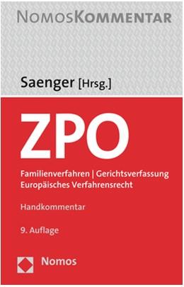 Abbildung von Saenger (Hrsg.) | Zivilprozessordnung: ZPO | 9. Auflage | 2021 | beck-shop.de