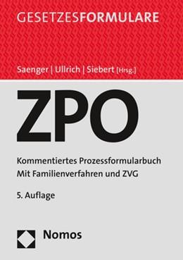 Abbildung von Saenger / Ullrich | Zivilprozessordnung: ZPO | 5. Auflage | 2021 | beck-shop.de