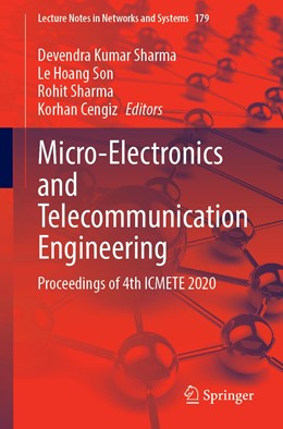 Abbildung von Sharma / Son | Micro-Electronics and Telecommunication Engineering | 1. Auflage | 2021 | 179 | beck-shop.de