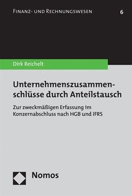 Abbildung von Reichelt | Unternehmenszusammenschlüsse durch Anteilstausch | 2008