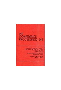 Abbildung von Heller / Smith | High Energy Spin Physics | 1995 | Proceedings of the Conference ... | 343