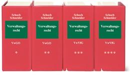Abbildung von Schoch / Schneider | Verwaltungsrecht • Verwaltungsgerichtsordnung, Verwaltungsverfahrensgesetz: VwGO, VwVfG | 1. Auflage | 2020 | beck-shop.de