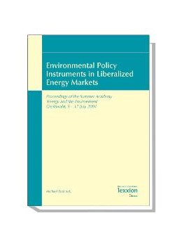Abbildung von Rodi | Environmental Policy Instruments in Liberalized Energy Markets | 1. Auflage | 2006 | beck-shop.de