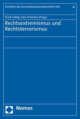Abbildung von Lüttig / Lehmann   Rechtsextremismus und Rechtsterrorismus   1. Auflage   2020   beck-shop.de
