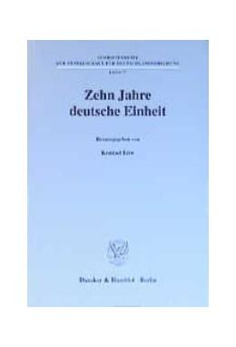 Abbildung von Löw | Zehn Jahre deutsche Einheit. | 2001 | 77