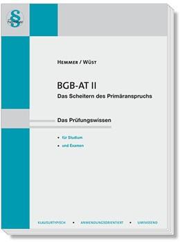 Abbildung von Hemmer / Wüst | BGB AT II | 16. Auflage | 2020 | beck-shop.de
