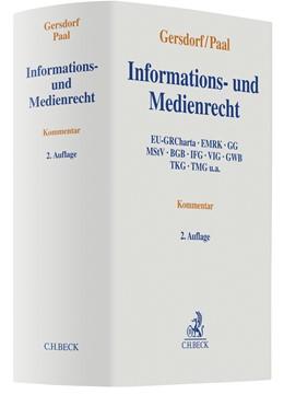 Abbildung von Gersdorf / Paal   Informations- und Medienrecht   2. Auflage   2021   beck-shop.de