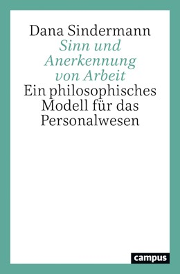 Abbildung von Sindermann | Sinn und Anerkennung von Arbeit | 1. Auflage | 2021 | beck-shop.de
