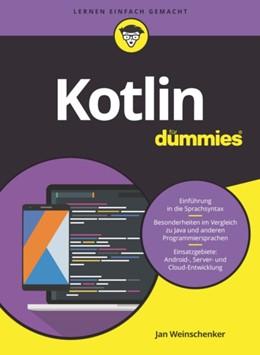 Abbildung von Weinschenker | Kotlin für Dummies | 1. Auflage | 2021 | beck-shop.de