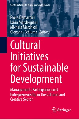Abbildung von Demartini / Marchegiani | Cultural Initiatives for Sustainable Development | 1. Auflage | 2021 | beck-shop.de