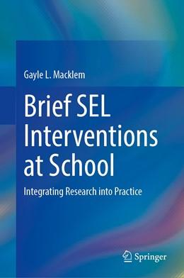 Abbildung von Macklem | Brief SEL Interventions at School | 1. Auflage | 2021 | beck-shop.de