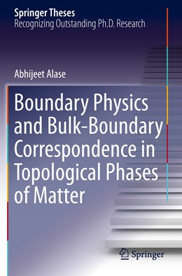 Abbildung von Alase | Boundary Physics and Bulk-Boundary Correspondence in Topological Phases of Matter | 1. Auflage | 2020 | beck-shop.de