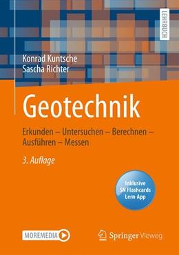 Abbildung von Kuntsche / Richter | Geotechnik | 3. Auflage | 2021 | beck-shop.de