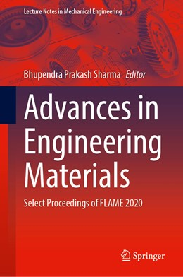 Abbildung von Sharma / Rao | Advances in Engineering Materials | 1. Auflage | 2021 | beck-shop.de