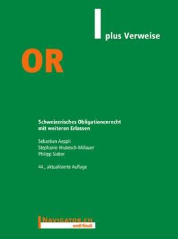 Abbildung von Aeppli / Hrubesch-Millauer   OR plus Verweise   44. Auflage   2021   beck-shop.de