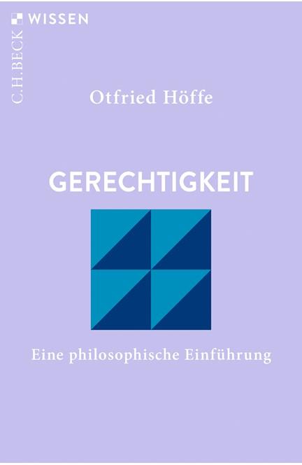 Cover: Otfried Höffe, Gerechtigkeit