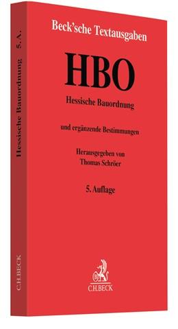 Abbildung von Hessische Bauordnung: HBO | 5. Auflage | 2021 | beck-shop.de