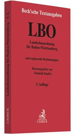 Abbildung von Landesbauordnung für Baden-Württemberg: LBO | 5. Auflage | 2021 | beck-shop.de