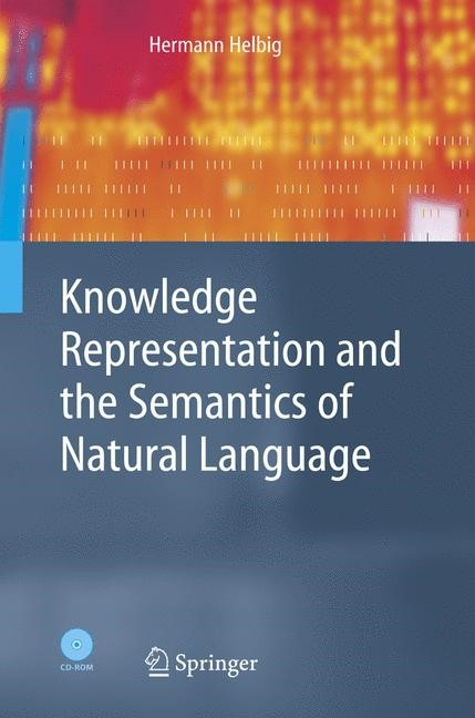 Abbildung von Helbig | Knowledge Representation and the Semantics of Natural Language | 2005