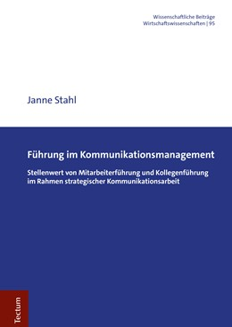 Abbildung von Stahl | Führung im Kommunikationsmanagement | 1. Auflage | 2020 | beck-shop.de