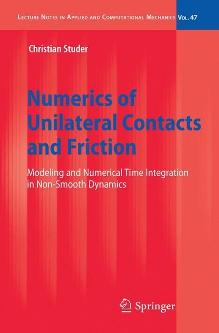 Abbildung von Studer | Numerics of Unilateral Contacts and Friction | 2009