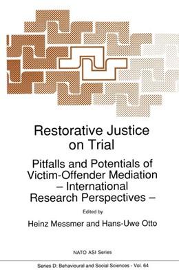 Abbildung von Messmer / Otto | Restorative Justice on Trial | 1992 | Pitfalls and Potentials of Vic... | 64