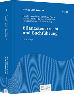 Abbildung von Horschitz / Fanck | Bilanzsteuerrecht und Buchführung | 16. Auflage | 2021 | Band 1 | beck-shop.de