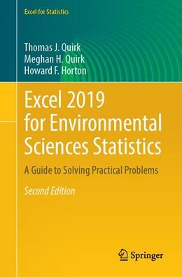 Abbildung von Quirk / Horton   Excel 2019 for Environmental Sciences Statistics   2. Auflage   2021   beck-shop.de